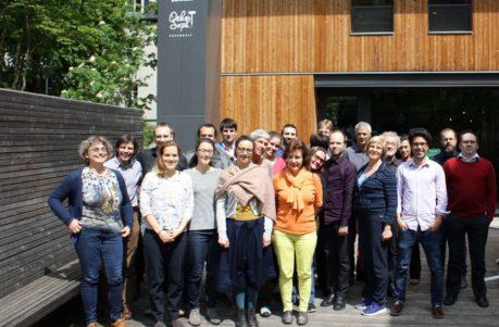 Internationaler Besuch im Oekozenter Pafendall im Rahmen des Topten Act Projekts