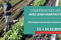 Conférence et ateliers avec Jean-Martin Fortier